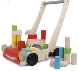Plan Toys Wooden Baby Walker