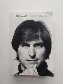 Steve Jobs Book by Walter Isaacson