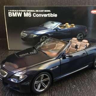 Kyosho BMW M6 Convertible 1:18