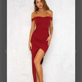 HelloMolly red maxi dreas