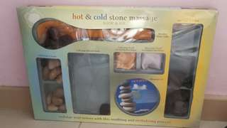 Hot and Cold Stone Massage Kit