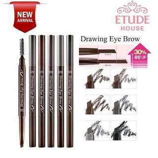 etude eyebrow drawing pen