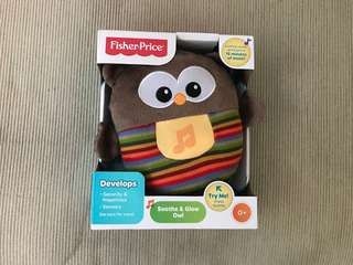Brand new fisher and price soothe and glow owl