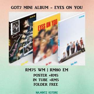PRE-ORDER GOT7 MINI ALBUM - EYES ON YOU