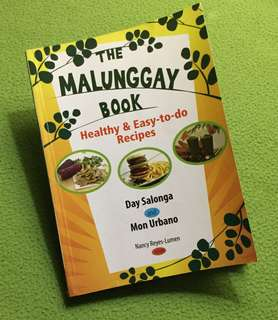 The Malunggay Book | Day Salonga and Mon Urbano