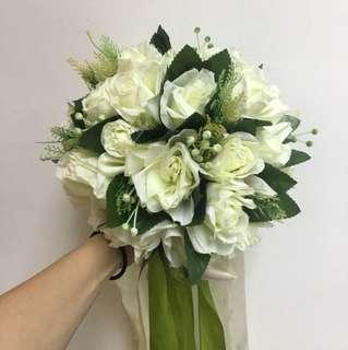 Wedding bouquet 絲花花球