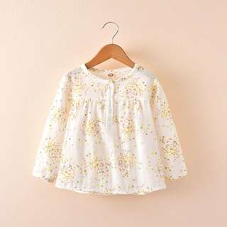 Long sleeve children clothes