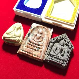Thai Amulet - 3 PCS