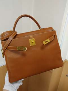 Hermes kelly 32 gold epsom