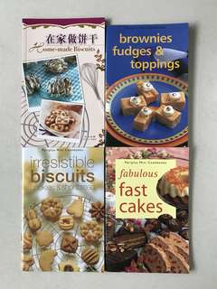 Cookies Biscuits Cakes Recipe Books