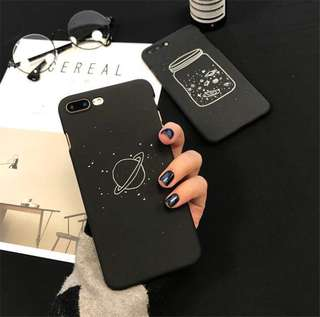 [PO] Black Space Iphone Case