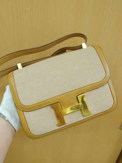 Hermes constance 23 with canvas