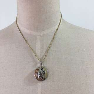 Brand new natural stones tiger eye pendent necklace