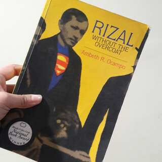 RIZAL WITH OUT THE OVER COAT