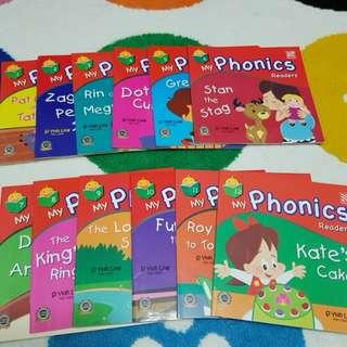 Phonics books 12 pcs