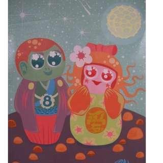 cute colorful artwork