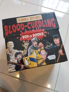Horrible Histories Box Set : 20 Brilliant Blood-Curdling Books