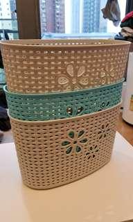 Basket Storage x3