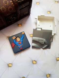 Square Superman Magnet