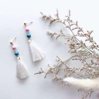 Xenia beads Tassels Earrings