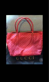 Brand new Gucci leather tote
