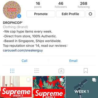 DROPNCOP official Instagram for streetwear