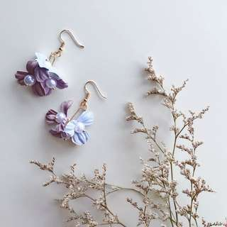 Matilda Flower Pearls Earrings