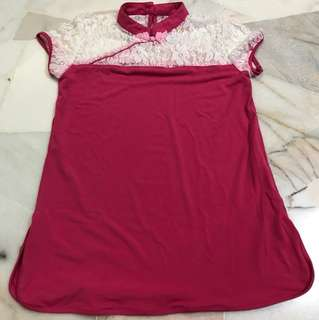 Brand New Maternity Chinese Top for Charity