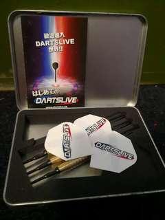 Darts live starter kit with tip holder