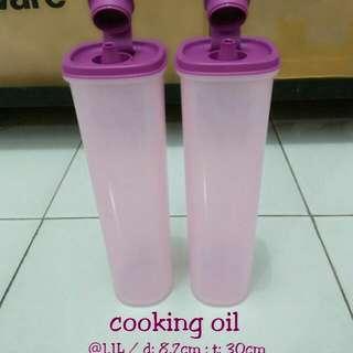 2 pcs tempat minyak tupperware
