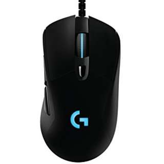 Logitech G403 wired Prodigy RGB Gaming Mouse – 16.8 Million Color Backlighting, 6 Programmable Buttons, Onboard Memory, Up to 12,000 DPI