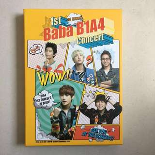 B1A4 1st Baba Concert