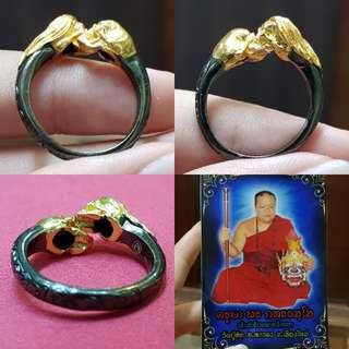 Skull Head Ring Thai Amulet