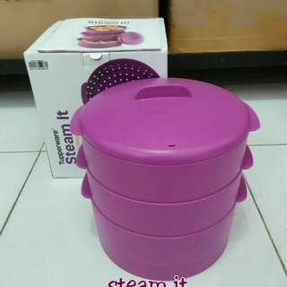Steam it unggu susun tiga tupperware