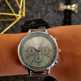 Plus Surprise Gift with Aeropostale Silver Mesh Watch