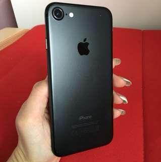 Matte Black iphone7