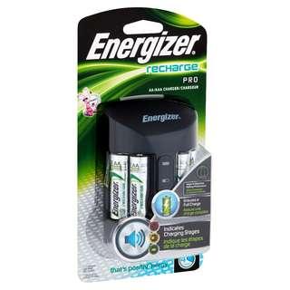 全球第一 勁量 Energizer 4小時 Pro LED Charger 發聲 充電器 ( 日本製 2A 2300mAh 充電池 ) - 原裝行貨