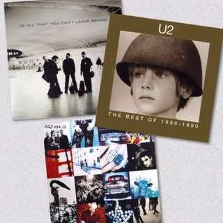 U2 CD Bundle