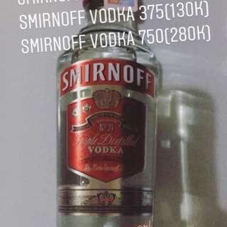 Smirnoff 200 , 375 ,750