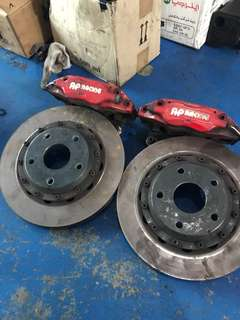 Ap racing brake kit (for Suzuki swift sport)
