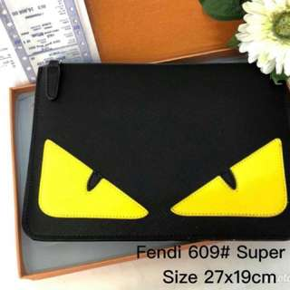 [SUPER A‼️]Fendi Monster Eye Clutch Wristlet (FREE POSTAGE)