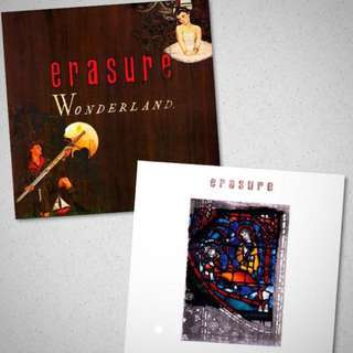 Erasure CD Bundle - Wonderland / Rare Debut Album from 1986 & Innocents /  3rd Album from 1988