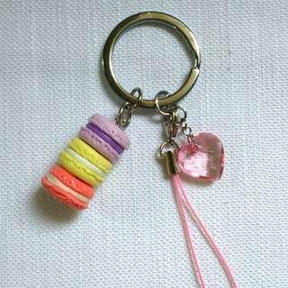Handmade Clay Keychain/ Bag Charm