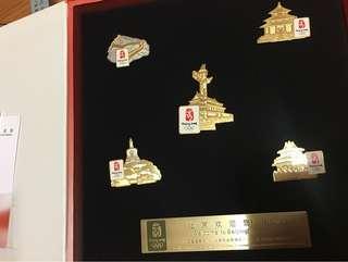 北京奧運金屬徽章(限量2萬套)