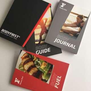 Buku diet / resep / olahraga / trik