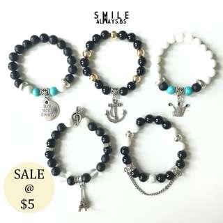 50% OFF Bracelets