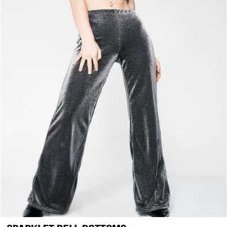 Dollskill sparklet bell bottom pants