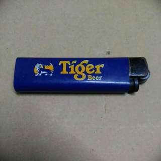 Vintage Tiger Beer Flint Lighter