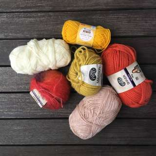 Yarn (Autumn Palette)