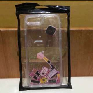 Iphone 8plus/7plus case(彷Chanel化妝品+閃粉紅色)💄📱✨全新📮包郵